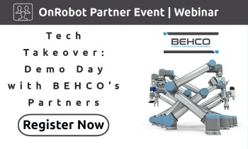 Tech Takeover: Demo Day with BEHCO's Partners | OnRobot